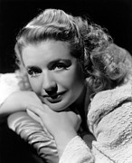 Publicity Shot Photos - Blues In The Night, Priscilla Lane, 1941 by Everett