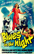 Films By Anatole Litvak Prints - Blues In The Night, Top Print by Everett