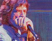 Jagger Mixed Media - Blues Man by Banning Lary
