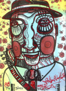 Outsider Art Mixed Media - Blues Traveller by Robert Wolverton Jr
