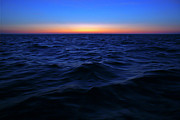 Offshore Prints - Bluewater sunset Print by Gary Eason