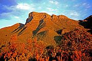 Sunset Pyrography Acrylic Prints - Bluff Knoll at Sunset WA Acrylic Print by Tony Brown