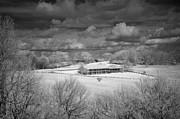 Bluffs Hotel Blue Ridge Parkway Print by Dan Carmichael