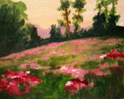 Julie Lueders Artwork Originals - Blush on the Meadow by Julie Lueders