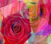 Yesayah Prints - Blushing Rose Print by Fania Simon