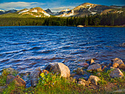 Pauls Colorado Photography Prints - Blustery Brainard Lake Print by Paul Gana