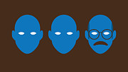 Humor Digital Art Prints - Bluth Man Group Print by Michael Myers