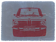 Cars Digital Art Posters - Bmw 2002 Poster by Irina  March