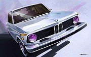 Photoshop Digital Art - Bmw 2002 by Uli Gonzalez