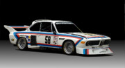 Bmw Racing Car Photos - Bmw 3.0 Csl by Kurt Golgart