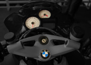 Motor Meter Prints - BMW Bike Print by Sydney Alvares
