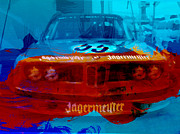 Classic Car Digital Art Posters - Bmw Jagermeister Poster by Irina  March