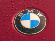 Rain Photo Originals - BMW Logo by Sydney Alvares