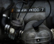 7 Digital Art - Bmw R100 7 by Steven  Digman