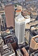 Photo Flights Originals - BNY Mellon Center 1735 Market Street Philadelphia PA 19103 by Duncan Pearson