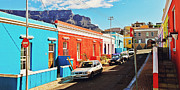 South Africa Prints - Bo-Kaap Malayan Quarter Print by Benjamin Matthijs