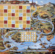 Board Game Photos - Board Game, 1918 by Granger