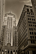 Stock Trading Framed Prints - Board of trade Framed Print by Anthony Citro