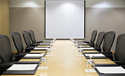 Meeting. Point Framed Prints - Boardroom Framed Print by Andersen Ross