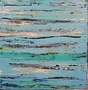 Boardwalk Paintings - Boardwalk at Little Talbot Island by Ed Akers