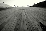 Cityscenes Metal Prints - Boardwalk Dreams Metal Print by Dean Harte
