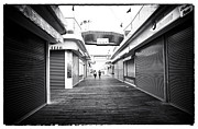 Seaside Heights Prints - Boardwalk Joggers Print by John Rizzuto