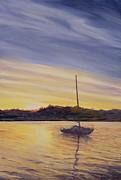 Boat At Rest Print by Antonia Myatt