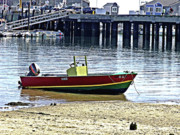 Marilyn Holkham Prints - Boat at the Beach Provincetown Print by Marilyn Holkham