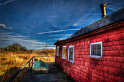 Saybrook Framed Prints - Boat House Framed Print by Michael Petrizzo