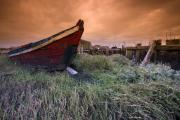 Inspire Metal Prints - Boat in Carrasqueira Metal Print by Andre Goncalves