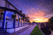 Sunset Framed Prints Framed Prints - Boat Inn Sunrise 2.0 Framed Print by Yhun Suarez