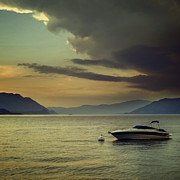 Lake Photos - Boat by Joana Kruse