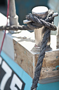 Trawler Metal Prints - Boat Mooring At Shoreham Harbour, West Sussex, Uk Metal Print by Emma Gutteridge