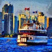 Vincent DiNovici - Boat on Ontario Lake TNM
