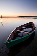 Chesil Beach Prints - Boat On The Fleet Print by Mark Freeman