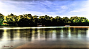 Boating Digital Art - Boat Ramp at Lake Shawnee by Joe Russell