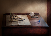 Workplace Metal Prints - Boat - The Joy of Sextant Metal Print by Mike Savad