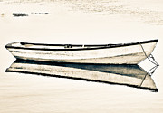 Maine Shore Art - Boat to no where. by Chad Tracy