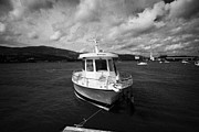Enterprise Metal Prints - Boat Used As A Small International Passenger Ferry Crossing The Mouth Of Carlingford Lough Metal Print by Joe Fox
