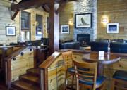 Boathouse Restaurant Print by Michael Rutland
