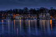 Boathouse Row Photos - Boathouse Row by Gerry Mann