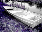 Amy Sorrell Art - Boating In Tint by Amy Sorrell