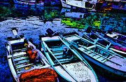 Boats 2 Print by Mauro Celotti