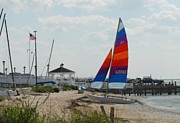 Lbi  Photographs Prints - Boats 61 Print by Joyce StJames