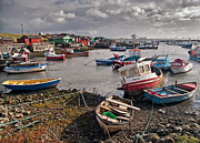 Tees Photos - Boats at Paddys Hole by Gary Eason