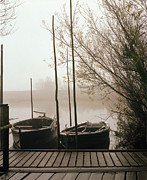 Europe Photo Originals - Boats at Vidaa by Jan Faul