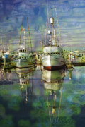 Ron Hoggard - Boats in the Harbor