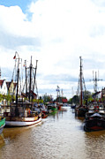 Trawler Metal Prints - Boats in the old harbor Metal Print by Stefan Kuhn