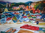 Therese Fowler-Bailey - Boats of Cinque Terre