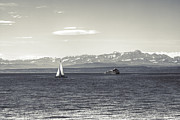 Ship Photos - boats on Lake Constance by Joana Kruse